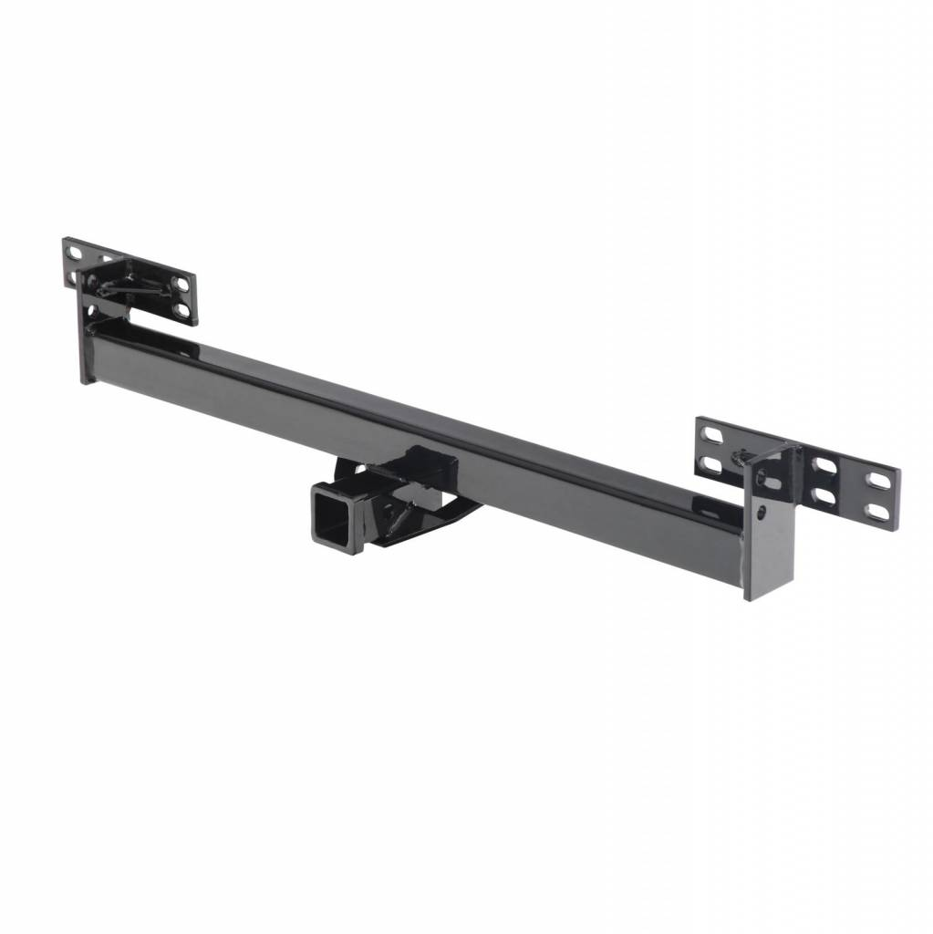 """Smittybilt Bolt On Receiver Tow Hitch 2/"""" For 87-06 Jeep Wrangler JH44 Black"""