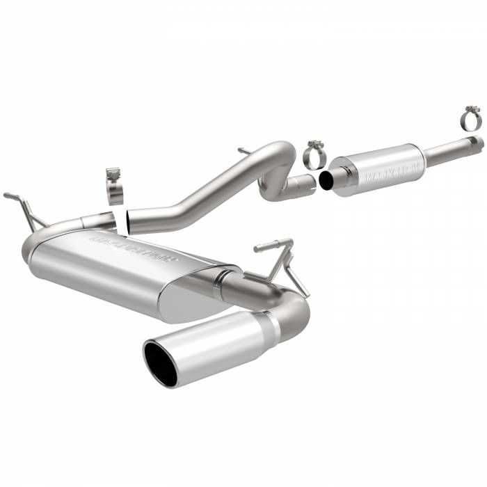 MagnaFlow Exhaust Products - MagnaFlow Exhaust Products MF Series Stainless Cat-Back System 15116