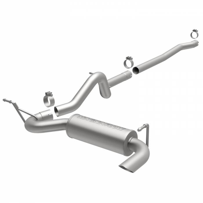 MagnaFlow Exhaust Products - MagnaFlow Exhaust Products Competition Series Stainless Cat-Back System 15117