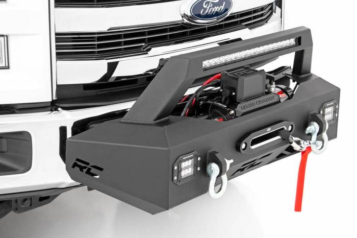 Rough Country - Rough Country EXO Winch Mount System (09-19 Ford F-150) 10762