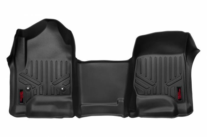 Rough Country - Rough Country Heavy Duty Floor Mats [Front | 1pc] - (14-19 Chevy Silverado / GMC Sierra) M-2114
