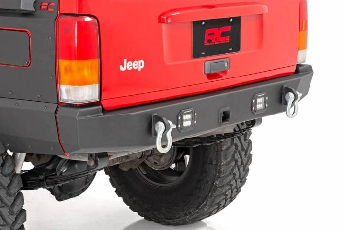 Rough Country - Rough Country Jeep Rear LED Bumper (84-01 Cherokee XJ) 110504