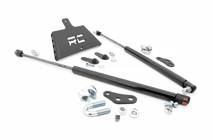 Rough Country - Rough Country Jeep TJ Hydraulic Hood Assist 1151