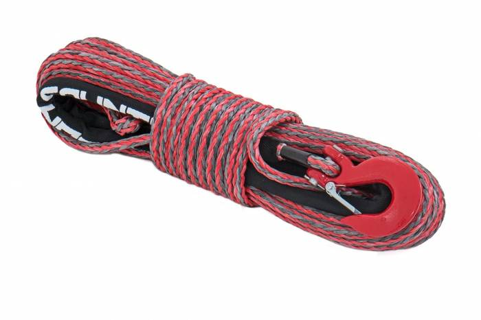 Rough Country - Rough Country Synthetic Rope - Red / Grey Combo RS116