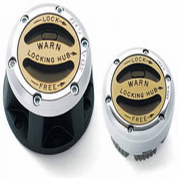 Warn - Warn Manual; 27 Spline; External Mount; Set Of 2 28739