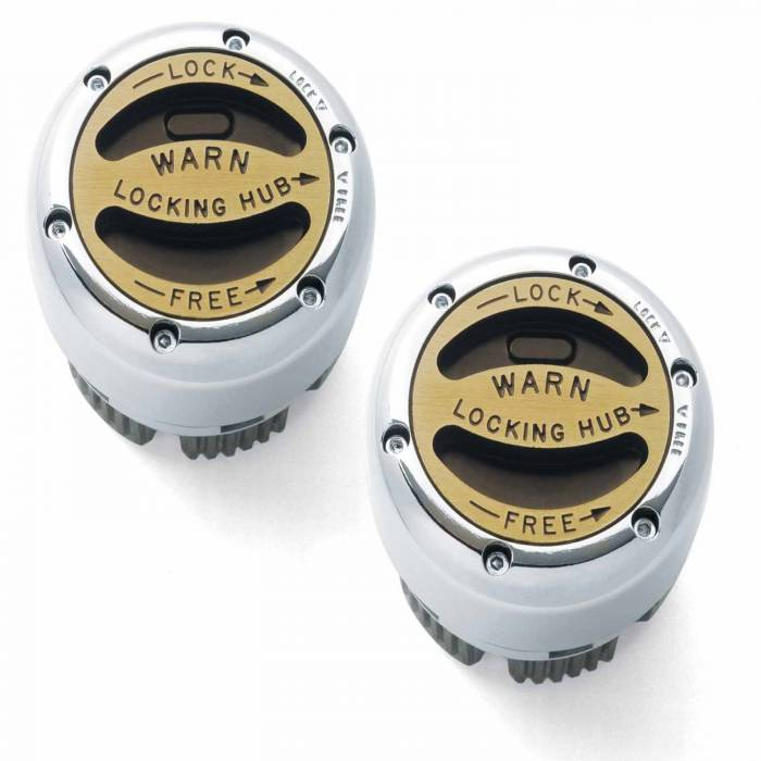 Warn - Warn Manual; 30 Spline; Internal Mount; Set Of 2 38826