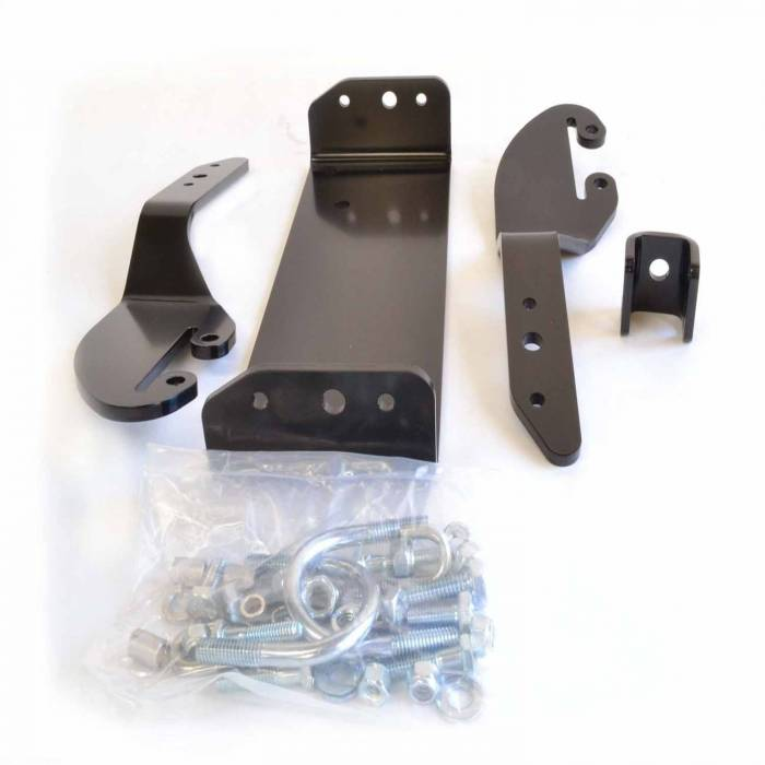 Warn - Warn Center Kit Black Includes Mounting Bracket and Hardware 64669