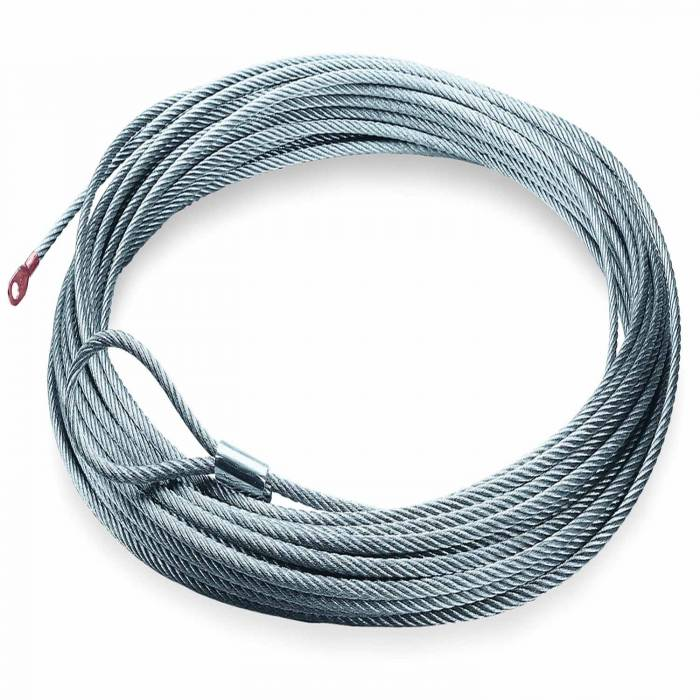 Warn - Warn RT15 and 1.5ci Winches 5/32 Inch Diameter x 50 Ft Galvanized Wire Rope 69336