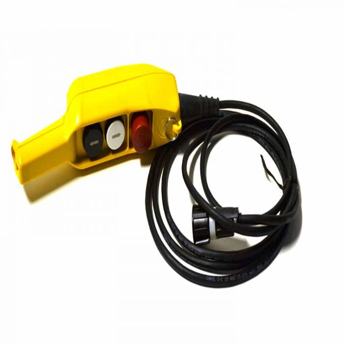Warn - Warn For DC Industrial Winches 12 Ft Lead CE With E-Stop. Not EN60204 Compliant. 63680