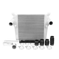 Engine and Performance - Turbo Intercoolers and Pipes - Mishimoto - Mishimoto Dodge 6.7L Cummins Intercooler Kit MMINT-RAM-10KSL