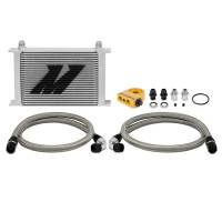 Engine and Performance - Oil System - Mishimoto - Mishimoto Universal Thermostatic Oil Cooler Kit, 25 Row MMOC-UHT