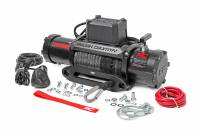 Winches & Recovery - Winches - Rough Country - Rough Country 12000lb Pro Series Electric Winch | Synthetic Rope PRO12000S