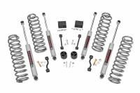 Rough Country - Rough Country 2.5in Jeep Suspension Lift Kit | Springs (18-19 Wrangler JL) 67731