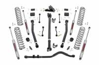 Rough Country - Rough Country 3.5in Jeep Suspension Lift Kit | Stage 2 Coils & Adj. Control Arms (18-19 Wrangler JL) 65531