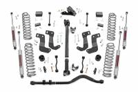 Rough Country - Rough Country 3.5in Jeep Suspension Lift Kit | Stage 2 | Coils & Control Arm Drop (18-19 Wrangler JL Unlimited) 65431