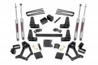 Rough Country - Rough Country 4-5in Toyota Suspension Lift Kit (Std Cab) 734.2