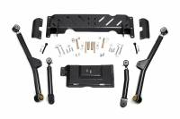 Steering & Suspension - Control Arms - Rough Country - Rough Country 4-6in Jeep Long Arm Upgrade Kit (84-01 XJ Cherokee - NP231) 68900U
