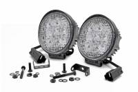 Lighting - Auxiliary Lights - Rough Country - Rough Country 4-inch LED Round Lights 70804
