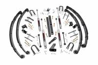 Rough Country - Rough Country 4.5in Jeep Suspension Lift Kit (Power Steering) 618.2