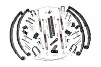 Rough Country - Rough Country 4.5in Jeep X-series Suspension Lift Kit (Power Steering) 617.2
