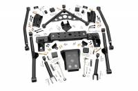 Steering & Suspension - Control Arms - Rough Country - Rough Country 4in Jeep Long Arm Upgrade Kit 90900U
