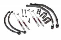 Rough Country - Rough Country 4in Jeep Suspension Lift Kit 675-76-8130