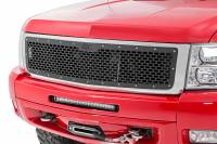Exterior - Grilles - Rough Country - Rough Country Chevrolet Mesh Grille (07-13 Silverado 1500) 70194