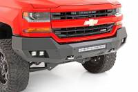 Exterior - Bumpers & Parts - Rough Country - Rough Country Chevy Heavy-Duty Front LED Bumper (16-18 1500) 10772