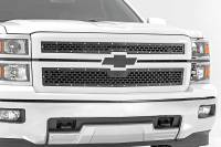 Exterior - Grilles - Rough Country - Rough Country Chevy Mesh Grille (14-15 Silverado 1500) 70101