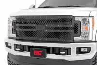 Exterior - Grilles - Rough Country - Rough Country Ford Mesh Grille (17-19 Super Duty) 70213