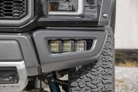 Lighting - Fog Lights - Rough Country - Rough Country Ford Triple LED Fog Light Kit (17-19 F-150 Raptor) 70700