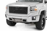 Exterior - Grilles - Rough Country - Rough Country GMC Mesh Grille (14-15 1500 Sierra) 70188