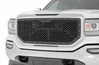 Exterior - Grilles - Rough Country - Rough Country GMC Mesh Grille (16-18 Sierra 1500) 70156