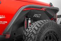 Exterior - Accessories - Rough Country - Rough Country Jeep Front Inner Fenders | Vertex Shocks (07-18 Wrangler JK) 1195V