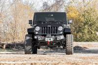 Rough Country - Rough Country Jeep Hybrid Stubby Winch Bumper w/Fog Mounts (07-18 Wrangler JK) 1062 - Image 5