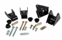 Steering & Suspension - Suspension Parts - Rough Country - Rough Country Jeep Shackle Reversal Kit 5061