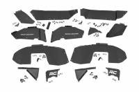 Rough Country - Rough Country Front & Rear Inner Fenders Set For 2018-2019 Jeep Wrangler And Wrangler Unlimited JL