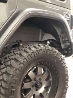 Rough Country - Rough Country Rear Fender Liner For 2018-2019 Jeep Wrangler And Wrangler Unlimited JL