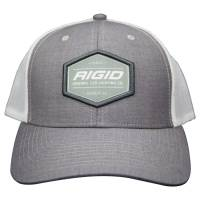 Shop By Part - Gear & Apparel - Rigid Industries - RIGID Industries Custom Trucker Hat Grey/White 1049