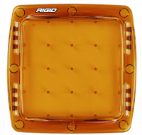 Lighting - Light Covers - Rigid Industries - RIGID Industries Light Cover Amber Q-Series Pro 103933