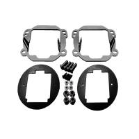 Lighting - Offroad Lights - Rigid Industries - RIGID Industries 07-15 JK D-Series Fog Light Mount D-Series Pro 40138