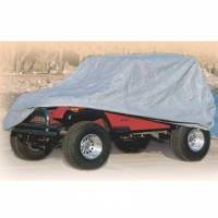 Shop By Part - Accessories - Smittybilt - Smittybilt - Complete Car Cover 76-06 Jeep Wrangler TJ/YJ/LJ/CJ7 Gray W/Storage Bag - 803