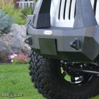 Shop By Part - Accessories - Rock Slide Engineering - Rock Slide Engineering - Jeep License Plate Mount For Rigid Series Front Bumper Bolt On - AC-FB-LP