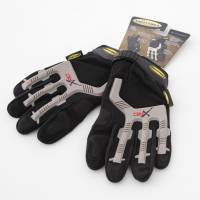 Shop By Part - Gear & Apparel - Smittybilt - Smittybilt - Gloves Black/ Gray Logo XLarge - 1505