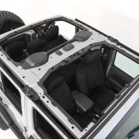 Interior - Seat Covers - Smittybilt - Smittybilt - Jeep JL Neoprene Front and Rear Seat Cover Set Wrangler JL 4-Door Black/Black - 472101