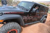 Rock Slide Engineering - Rock Slide Engineering - Step Slider Skid Plate Kit for 18-Pres Jeep JL 4 Door - AX-SS-SP-JL4