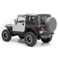 Exterior - Soft Tops - Smittybilt - Smittybilt - Jeep TJ Replacement Soft Top w/Tinted Windows 1997-2006 Wrangler TJ Black Diamond - 9971235