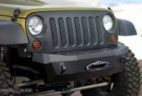 Winches & Recovery - Winch Accessories - Rock Slide Engineering - Rock Slide Engineering - Winch Delete Plate For Rigid Series Front Bumper Bolt On - AC-FB-WBL