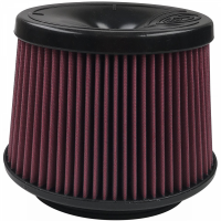 S&B Filters - S&B Filters - Air Filter For 75-5081,75-5083,75-5108,75-5077,75-5076,75-5067,75-5079 Cotton Cleanable Red S&B - KF-1058
