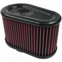 S&B Filters - S&B Filters - Air Filter For Intake Kits 75-5070 Oiled Cotton Cleanable Red S&B - KF-1039